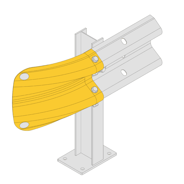 Armco Fishtail Safety End