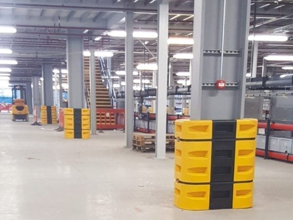 PolyWRAP-Säulenschützer