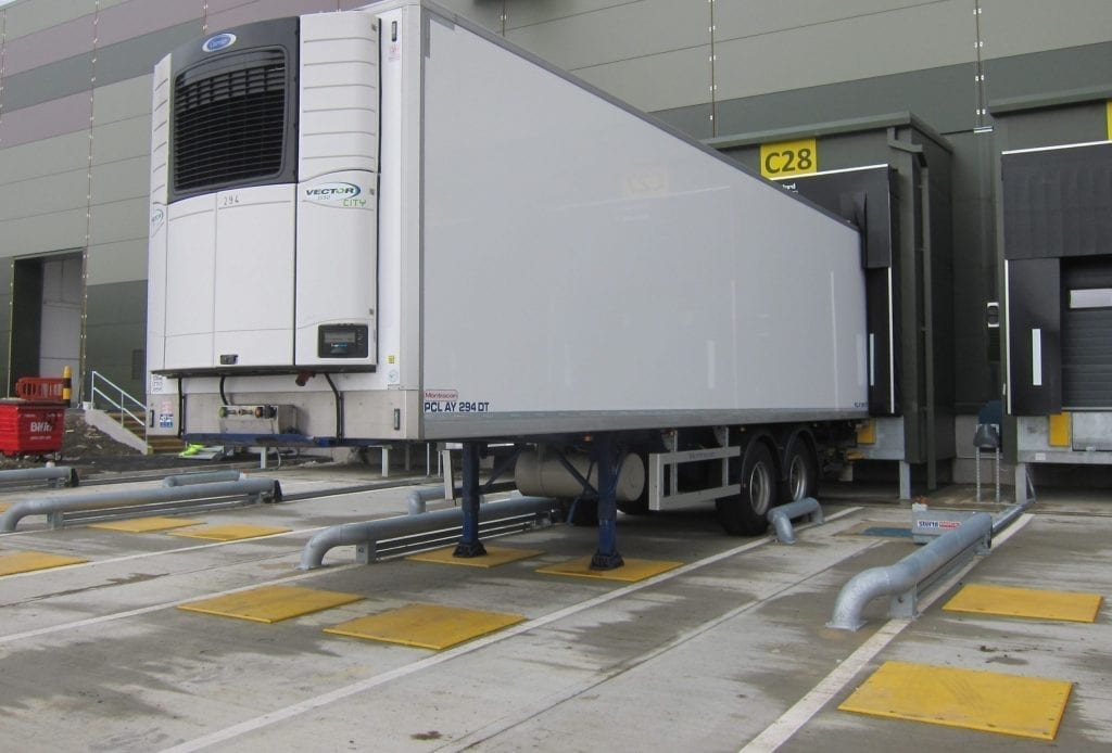 HGV Landing plates are great for warehouse safety