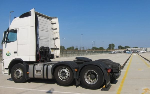 HGV Wheel Stops