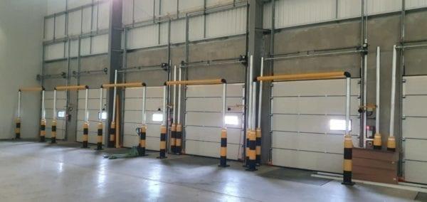 Door Protection Goalpost System