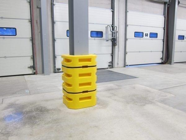 PolyWRAP-Aufprallschürze für Gabelstapler