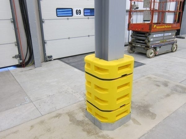 PolyWRAP Forklift Impact Skirt