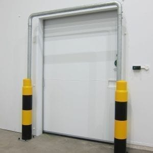 Door Protection Goalpost System