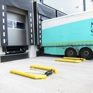 HGV Cranked Dock Wheel Guides