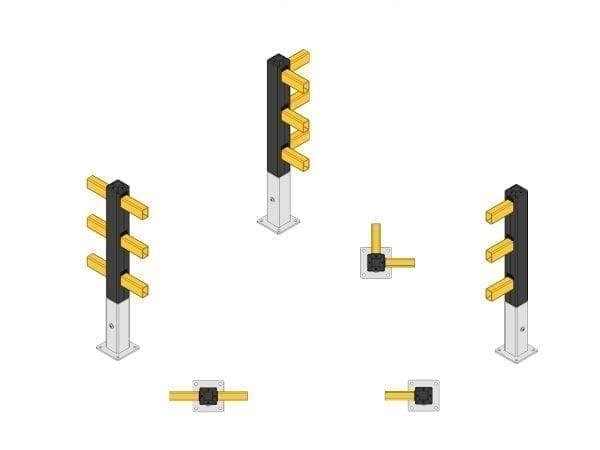 Sicherheitsbarrieren für Fußgänger (SEG+)