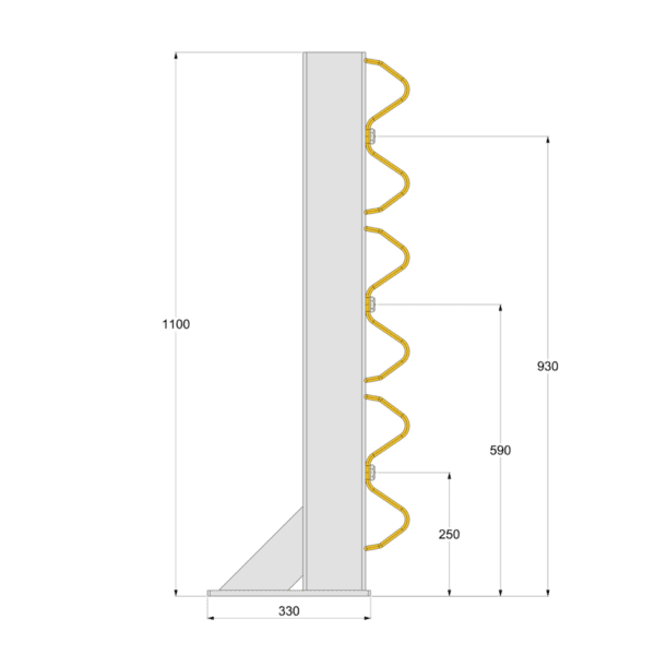 Armco 1100D / 1100T Safety Barrier