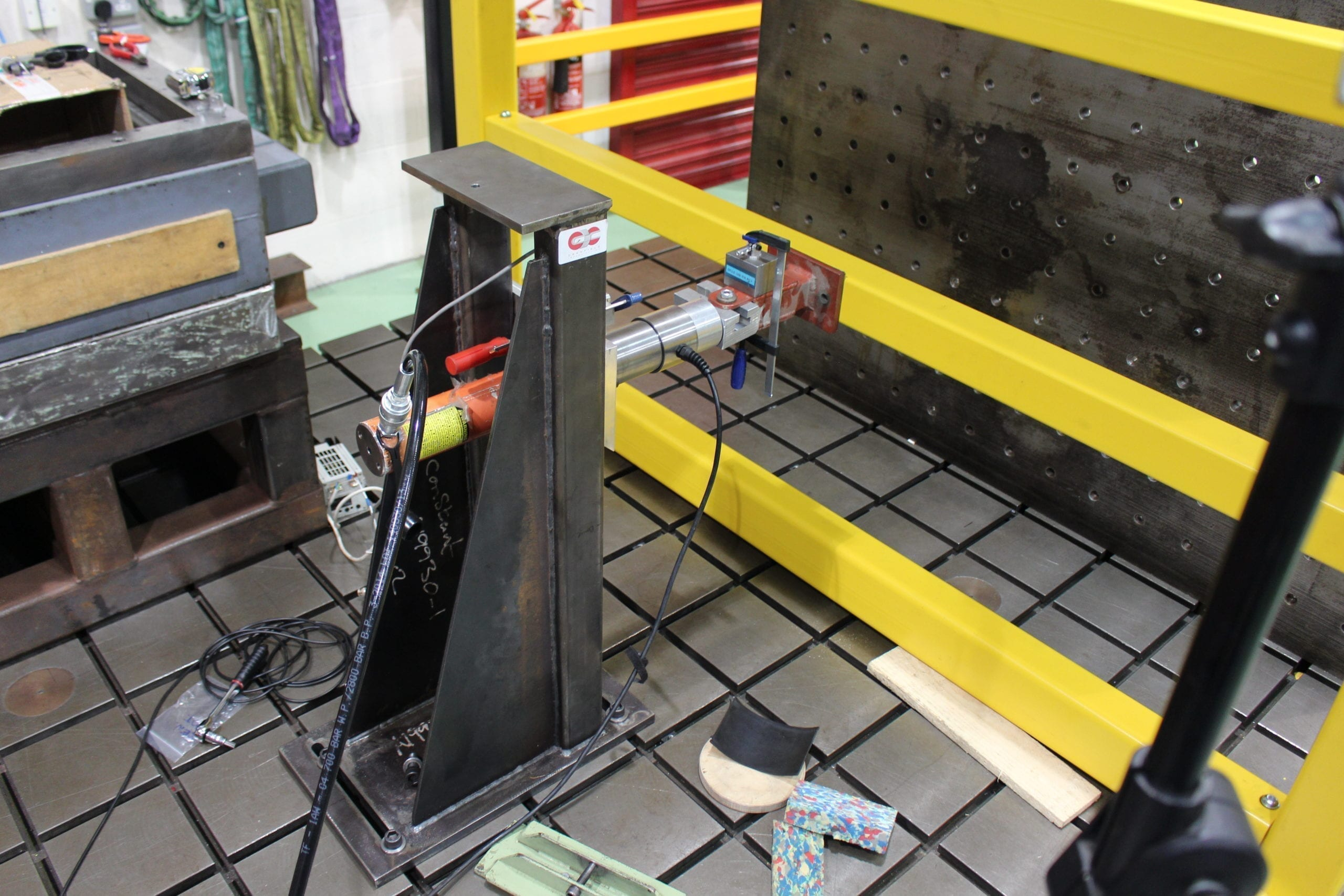 Impact Testing of Brandsafe Protection Systems
