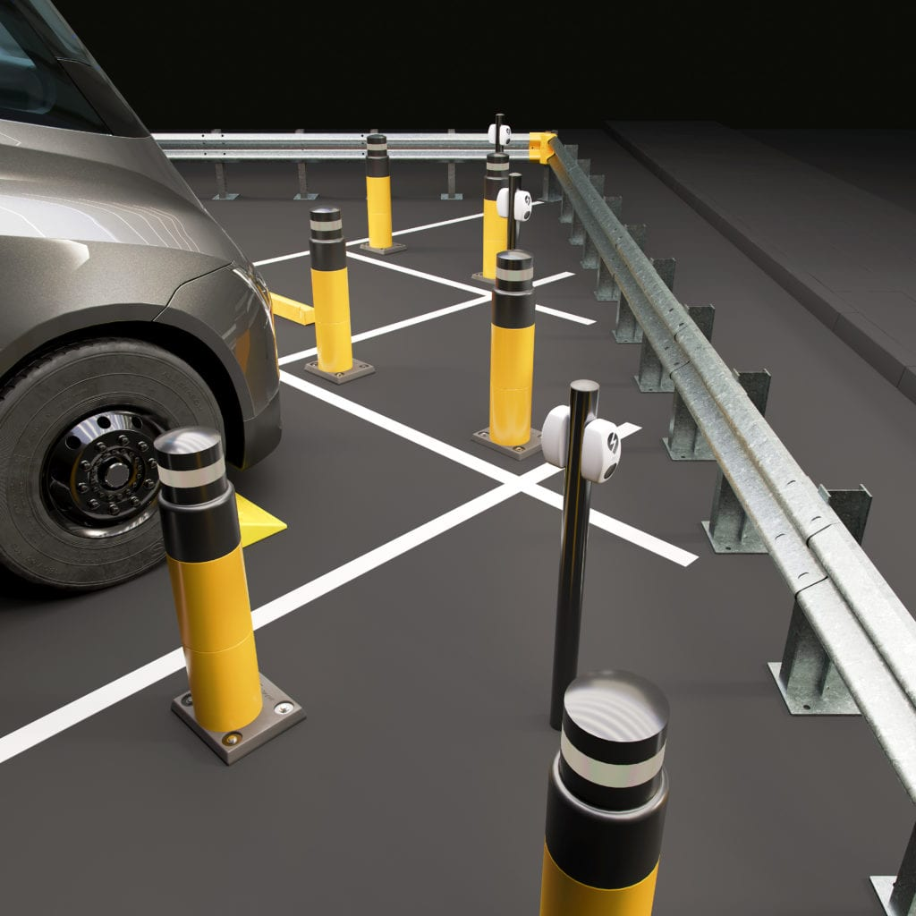 EV Charging Point Protection Posts
