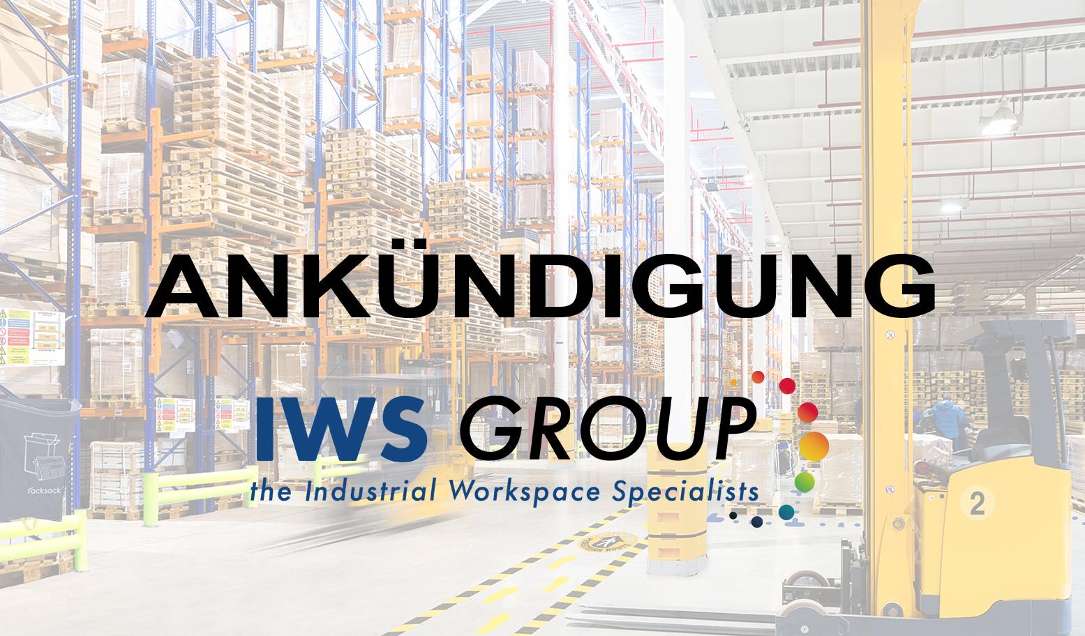 Ankündigung bezüglich IWS-Gruppe