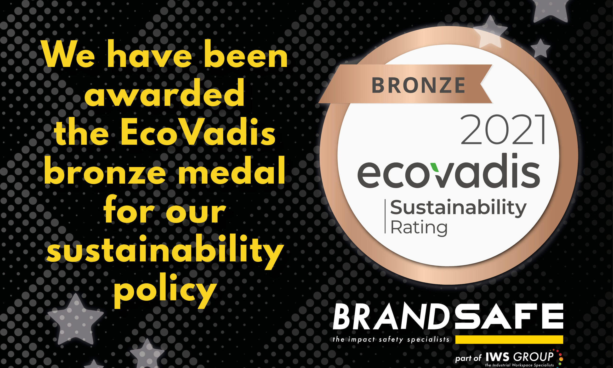 Brandsafe erhält den EcoVadis-Nachhaltigkeitspreis